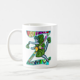 Fairy Letter Z with personalized name Coffee Mug