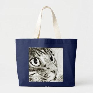Fairy Light Tabby Cat Fantasy Art Bag