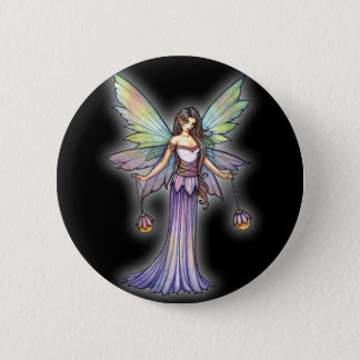 Fairy Lights by Molly Harrison 6 Cm Round Badge