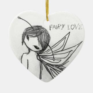 """""""Fairy Love"""" Ornament"""