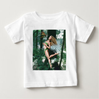 Fairy meeting wasp in woods tshirts