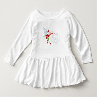 Fairy Merry Wand Merry Toddler Ruffle Dress