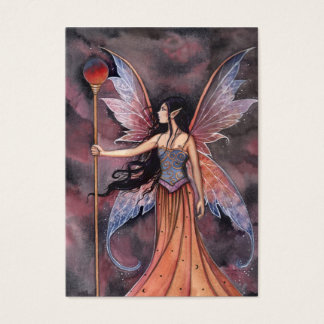 Fairy Mini Thank You Card by Molly Harrison