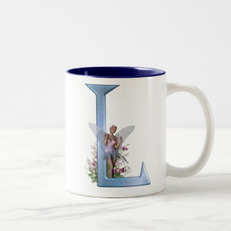 Fairy Monogram L Mug