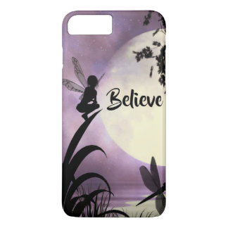 Fairy moon Believe iPhone case