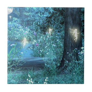 Fairy night magic tile