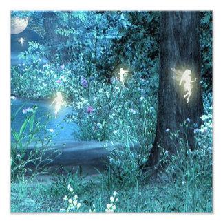 Fairy night print