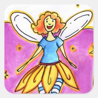 Fairy Notes Square Sticker