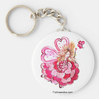 Fairy of the heart Colineandco butterfly Key Ring