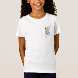 Fairy On My Pocket: Fiona the Fairy Girl's Tee