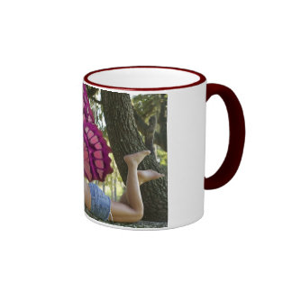 Fairy on the branch mugs