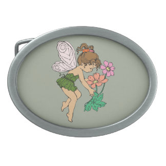 Fairy Oval Belt Buckle