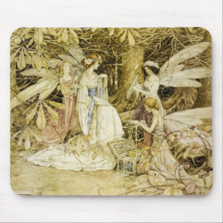 Fairy Painting Mousepad