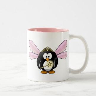 Fairy Penguin Two-Tone Coffee Mug