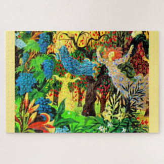 fairy people in the forest jigsaw puzzle