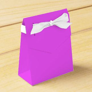 Fairy Pink Colored Favor Box Wedding Favour Box