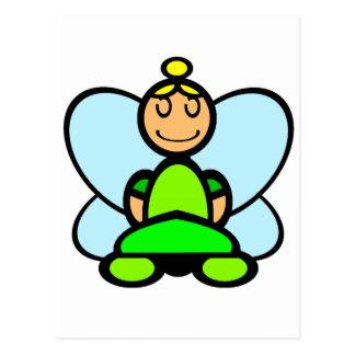 Fairy (plain) postcard