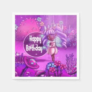 Fairy Precious Birthday Paper Napkins