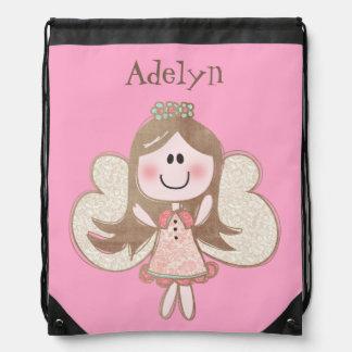 Fairy Princess Drawstring Bag