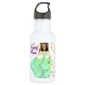Fairy Princess, Dress & Stars - with YOUR Photo - 532 Ml Water Bottle