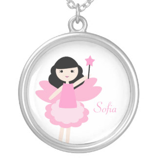 Fairy Princess Personalized Girl's Necklace