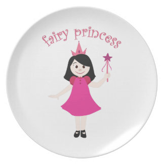 Fairy Princess Party Plate