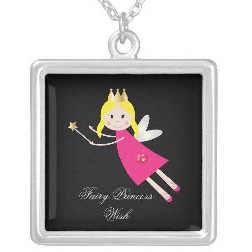 Fairy Princess Wish childrens necklace, gift idea