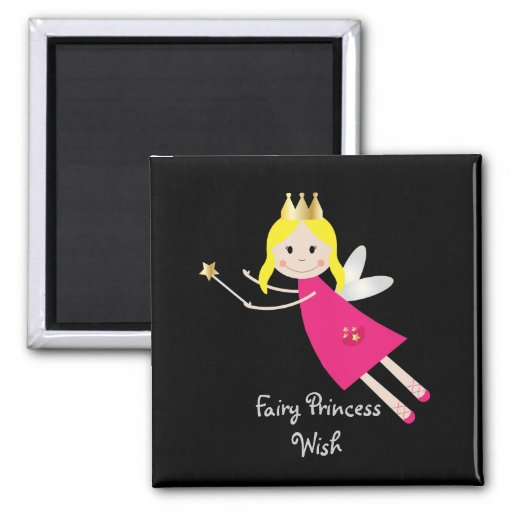 Fairy Princess Wish fridge magnet, gift idea