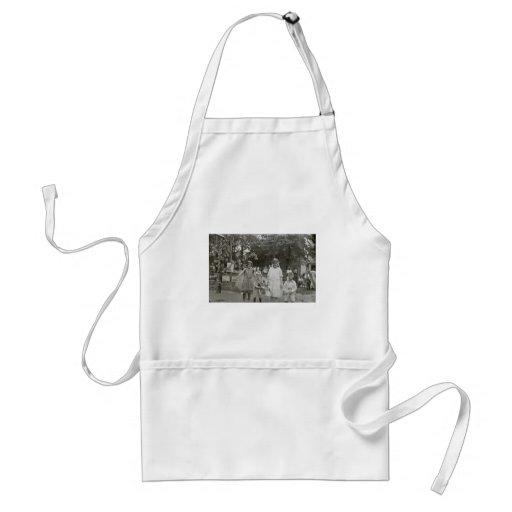 Fairy Princesses (and little brothers) Aprons