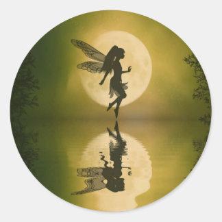 Fairy Reflect Classic Round Sticker