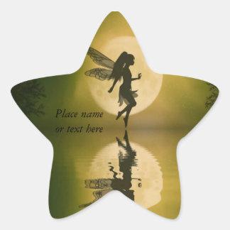Fairy reflect fairy star sticker