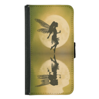 fairy reflect iPhone or galaxy wallet case