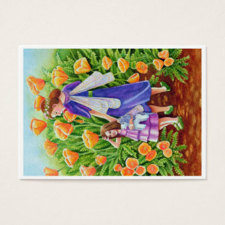 Fairy Rider Double Sided Aceo Print Business Card