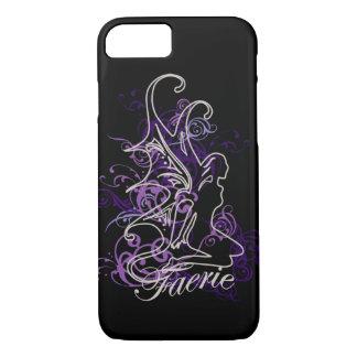 Fairy Scroll Faerie purple iPhone 8/7 Case