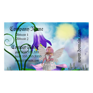 Fairy Shower Business Cards