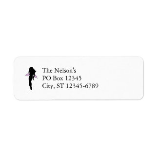 Fairy Silhouette Return Address Label
