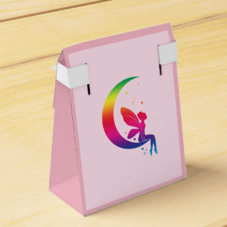Fairy Sitting on the Moon Favour Box
