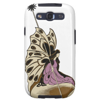 Fairy Sitting Upon A Mushroom Mythical Being Samsung Galaxy SIII Covers
