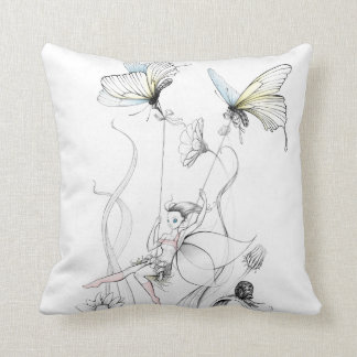 Fairy Sketch Pillow