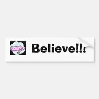 fairy skirt, Believe!!! Bumper Sticker