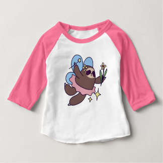 Fairy Sloth Baby T-Shirt