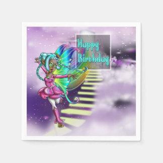 Fairy Sparkle Birthday Paper Napkins