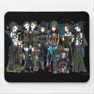 Fairy Steampunk Circus Whimsical Fairy Mouspad Mouse Pad