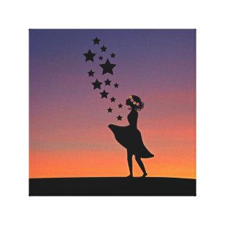 Fairy Sunset Canvas Print