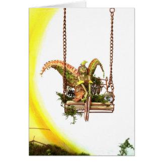 Fairy Swing, Blank Card