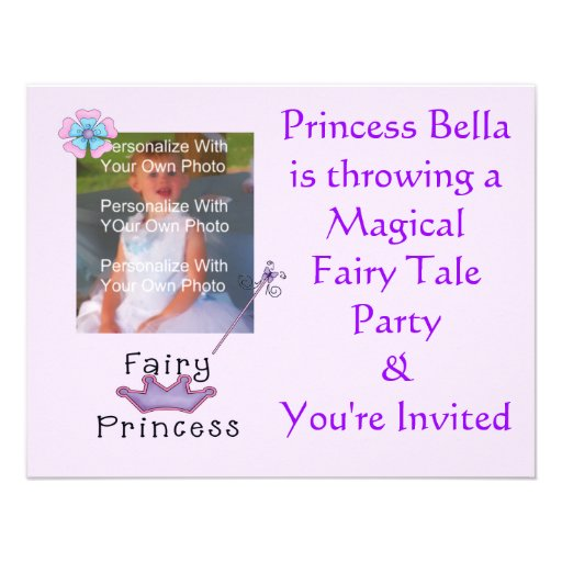 Fairy Tail Party Invitation