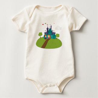Fairy Tale Castle Baby Bodysuit