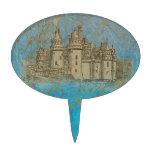 Fairy Tale Castle & Fleur de lis Cake Picks