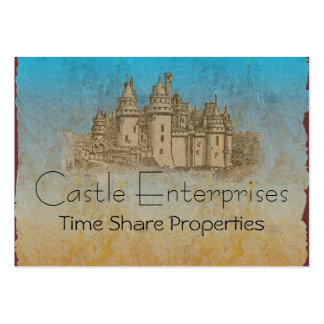 Fairy Tale Castle Pack Of Chubby Business Cards