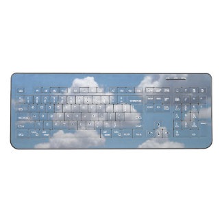 Fairy Tale Clouds Wireless Keyboard